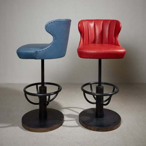 2021 Captains Bar Stools – Blue Red-0001