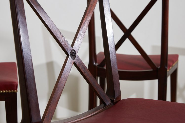 2021 Orangerie Chairs – Red Leather-0003