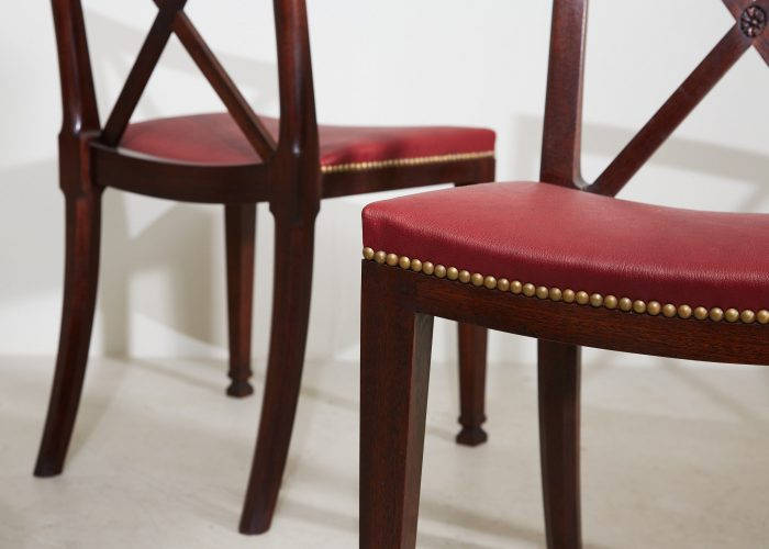 2021 Orangerie Chairs – Red Leather-0005