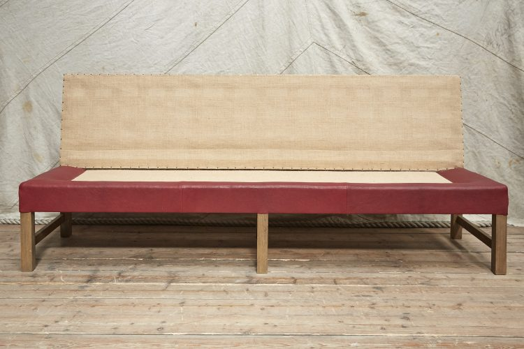 Banquette Red Leather-0001