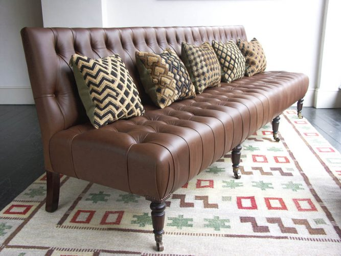 Howe Billiard Room Bench