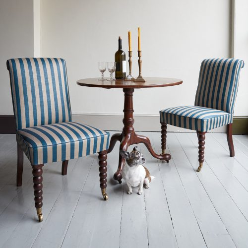 Bobbin Leg Dining Chairs-0005