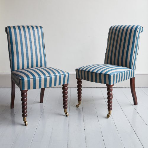 Bobbin Leg Dining Chairs-0015