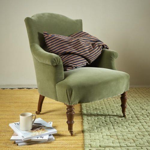 Chapeau Chair – Green Velvet-0001