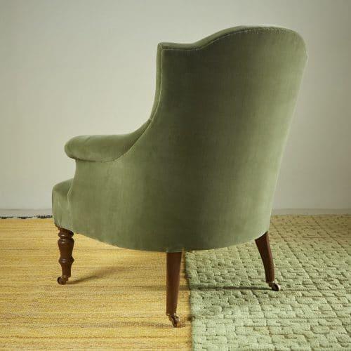 Chapeau Chair – Green Velvet-0004