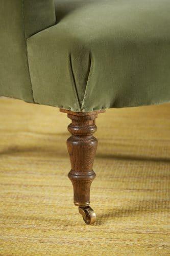 Chapeau Chair – Green Velvet-0012