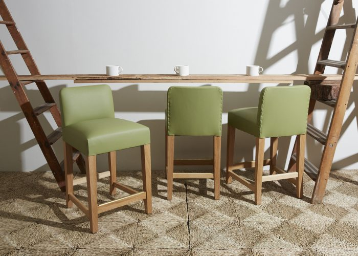 Clerks-Low-Bar-Stools-Green-Leather-0001