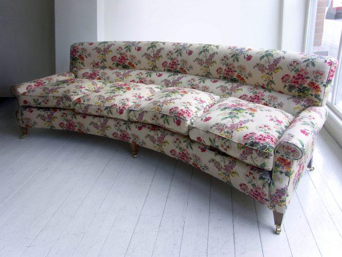 Curved Hound Sofa