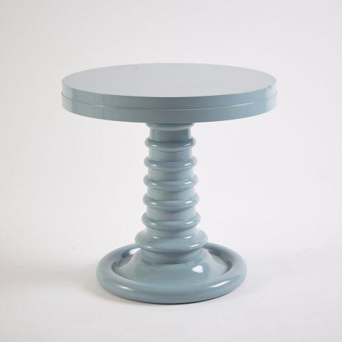Dove Grey Button Table-0001