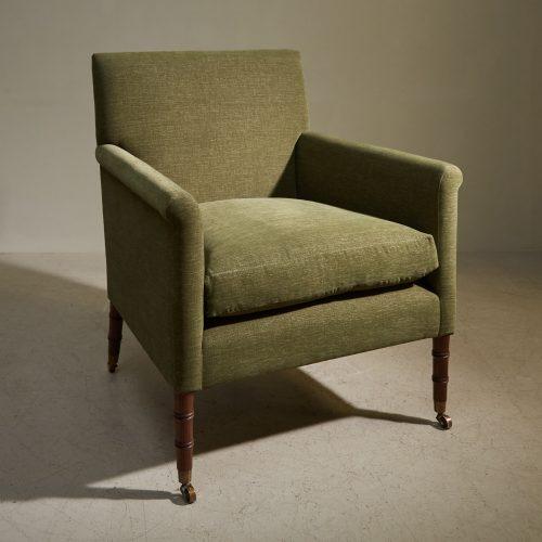 Freud Chair – Green – Colefax-0001
