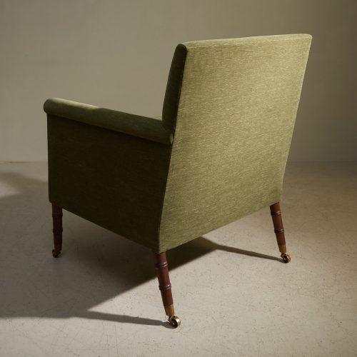 Freud Chair – Green – Colefax-0003
