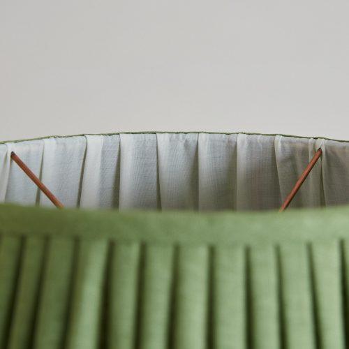 HH800015FG – Fern Green Linen Lampshade-0003
