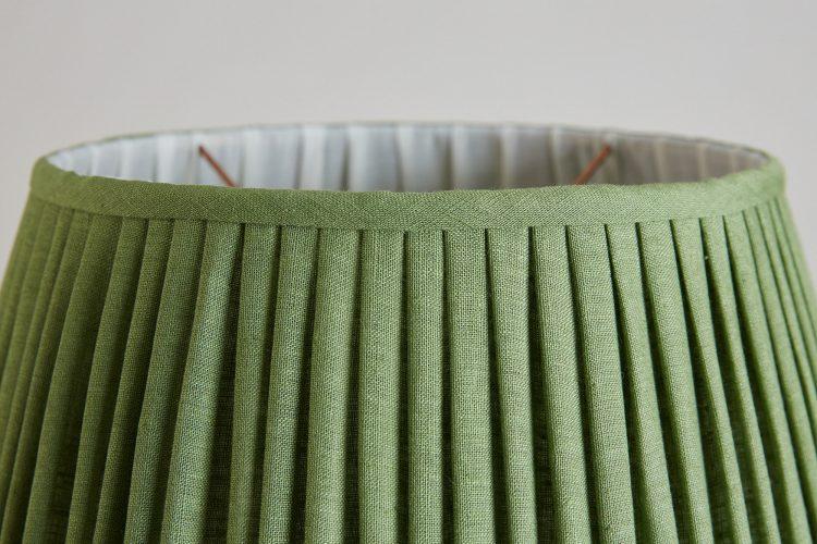 HH800015FG – Fern Green Linen Lampshade-0004