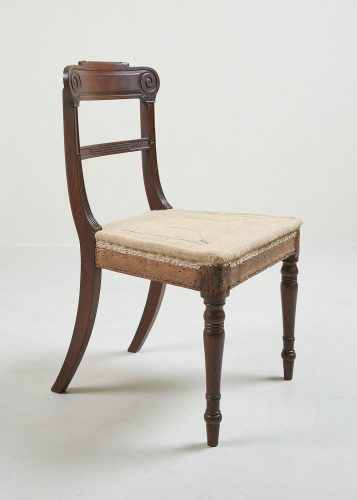 HL1525 – Six Regency Mahogany Dining Chairs-0019
