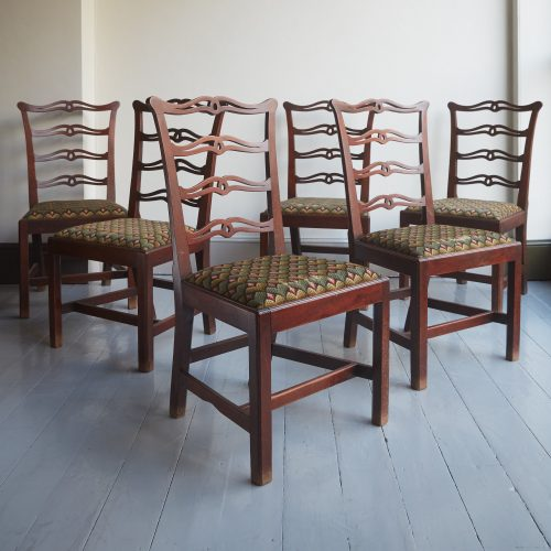 HL3086 – Six George III Chippendale Dining Chairs-0001