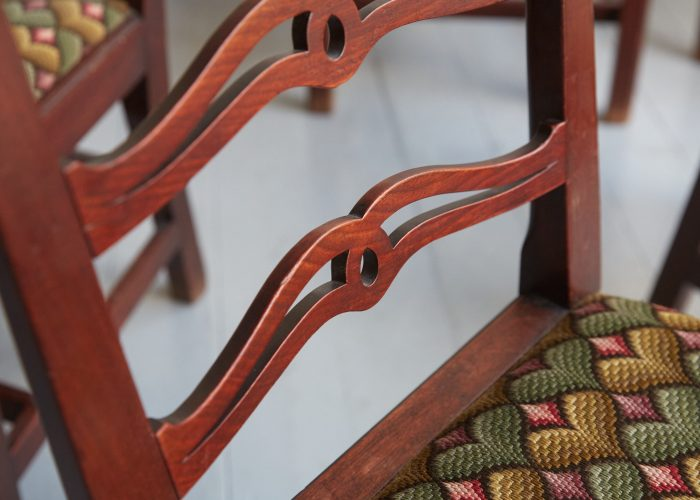 HL3086 – Six George III Chippendale Dining Chairs-0007