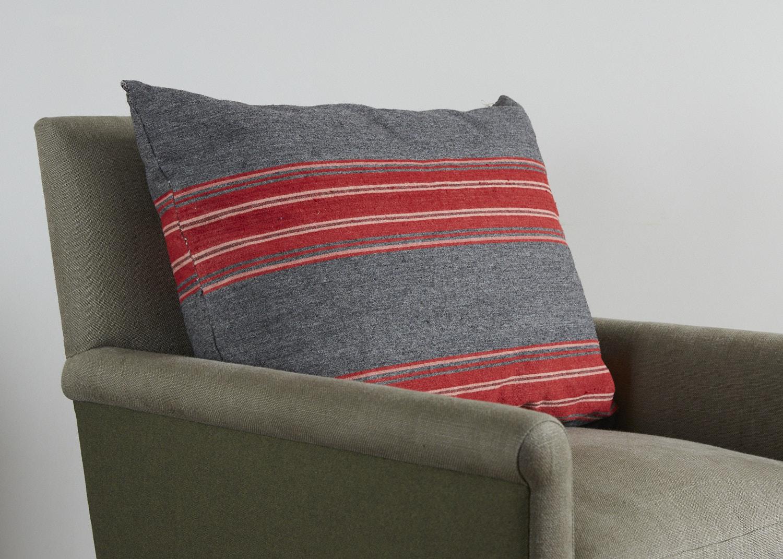 Grey Swedish Wool Pillow | Howe London