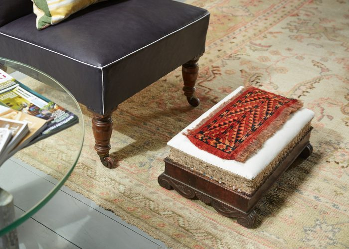 HL3707 – French Empire Footstool-0001