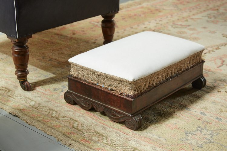 HL3707 – French Empire Footstool-0003