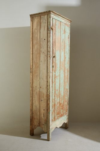 HL816 – Narrow Painted Pine Cupboard-0023
