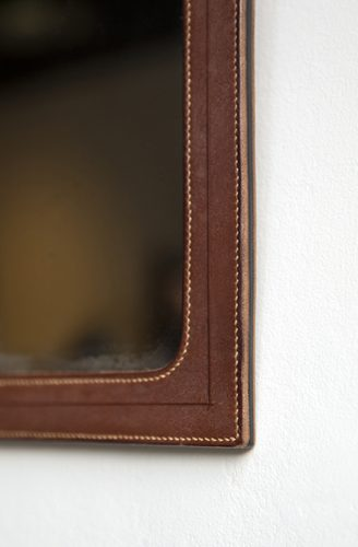 Howe-Leather-Mirror-Detail