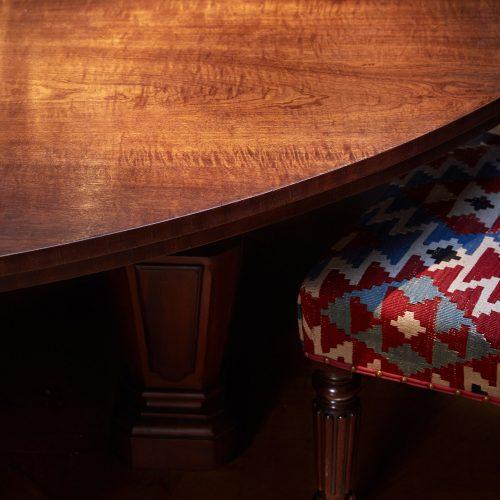 INC0076 – Mahogany Dining Table – Blue Room-0010-CU-SQU