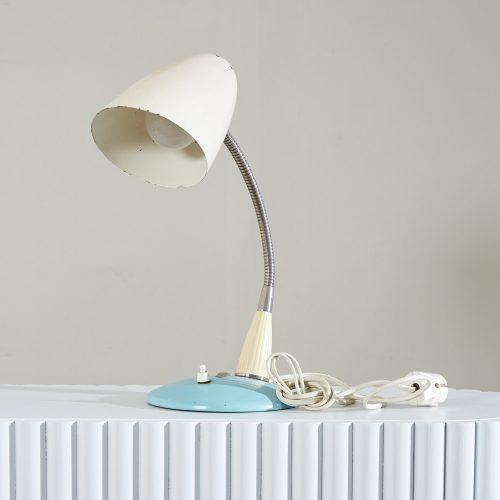 INC0552 – 1950s Blue Desk Lamp-0008
