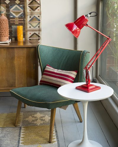 Lyon Chair Perfect For Cocktails. Midcentury Style 1950s.