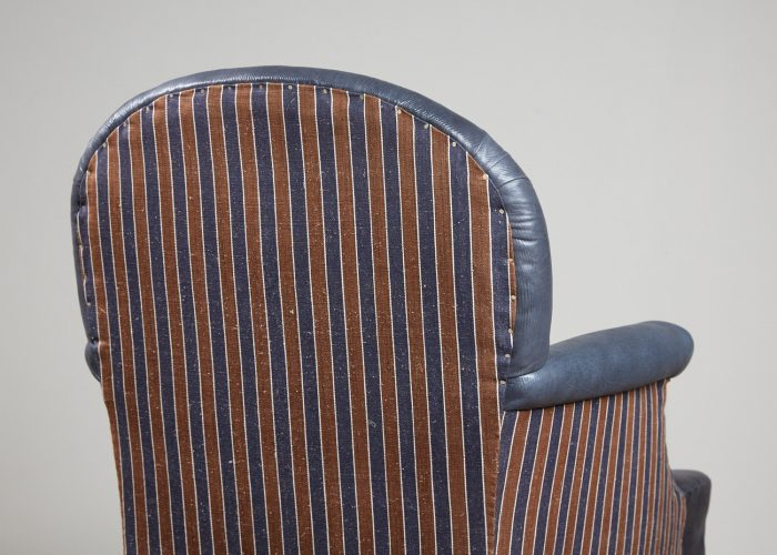 Recovered-Blue-Leather-side-Chair-10
