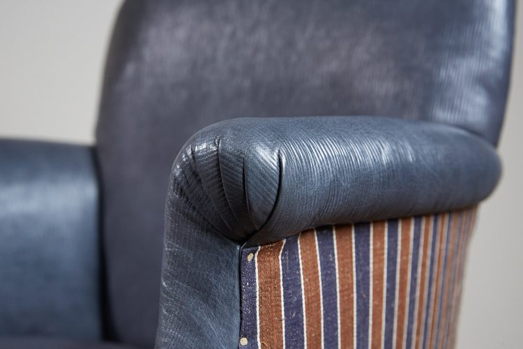 Recovered-Blue-Leather-side-Chair-2