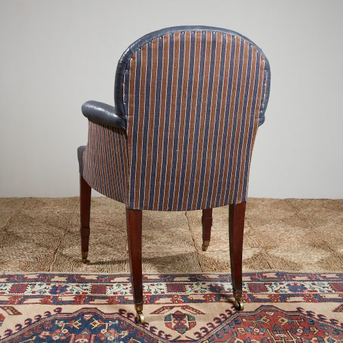 Recovered-Blue-Leather-side-Chair-3