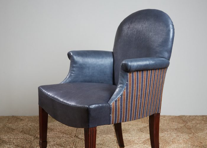 Recovered-Blue-Leather-side-Chair-4