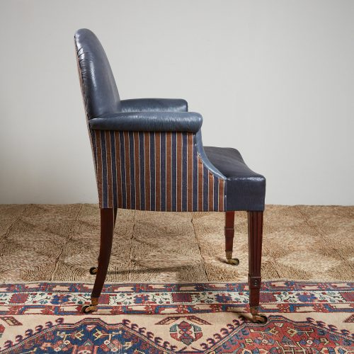 Recovered-Blue-Leather-side-Chair-6