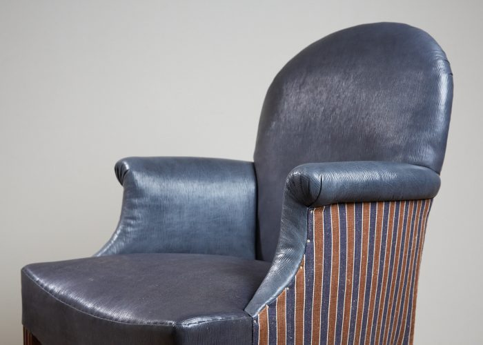 Recovered-Blue-Leather-side-Chair-7