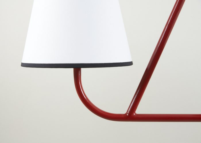 Red Tube Chandelier-0014