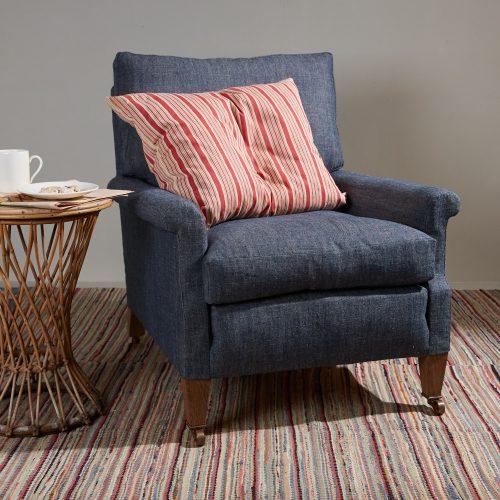 Spaniel Chair – Blue Denim-0001