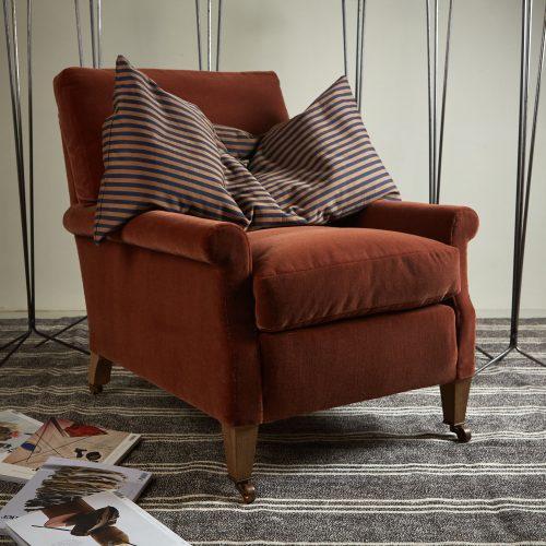 Spaniel Chair – Orange-0001