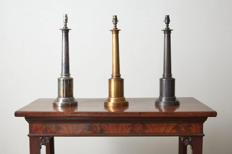 Tuscan Column Lamps-0001