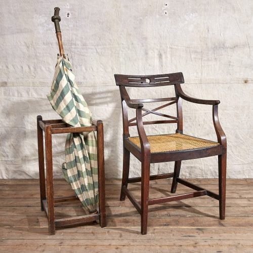 Wooden-Armchair-Wicker-Seat-0005