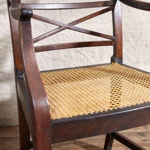Wooden-Armchair-Wicker-Seat-0010