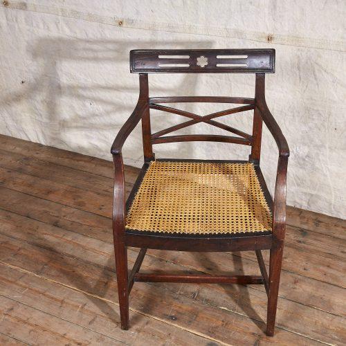 Wooden-Armchair-Wicker-Seat-0013