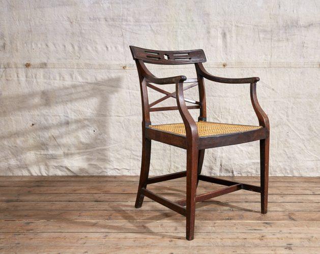 Wooden-Armchair-Wicker-Seat-0016