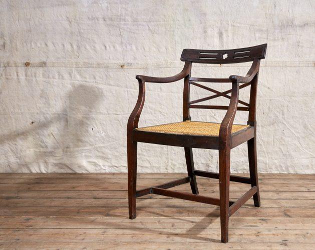 Wooden-Armchair-Wicker-Seat-0021