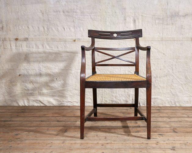 Wooden-Armchair-Wicker-Seat-0022