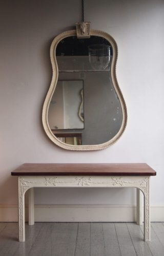 Howe Bucranium Mirror