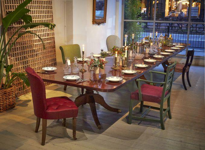 wormington table christmas