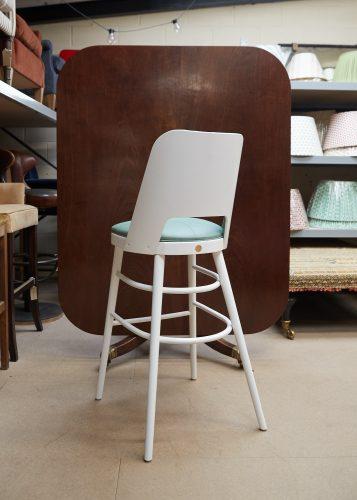 2021 Camembert Bar Stool – Mint Leather-0003