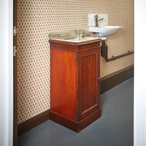 HL3789 – Marble Topped Bedside Cabinet-0001