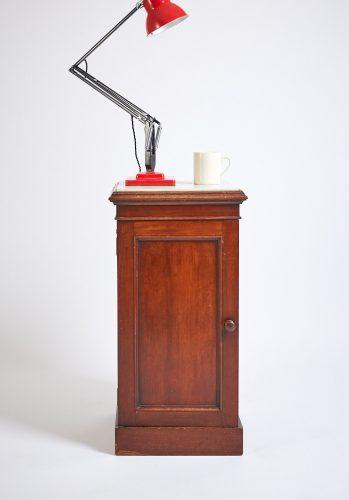 HL3789 – Marble Topped Bedside Cabinet-0006