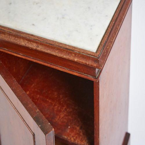 HL3789 – Marble Topped Bedside Cabinet-0011